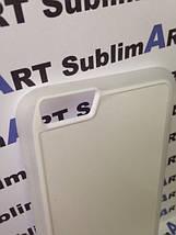 Чехол для 2D сублимации резиновый (TPU) Iphone 6/6s PLUS прозрачный, фото 3