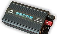 Преобразователь напряжения мощность 1000Вт UKC 12V-220V автомобильный инвертор, фото 1