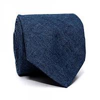 Галстук Gofin LN-2063 узкий 145х6 см Синий