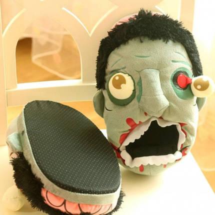 Домашние тапочки Зомби, фото 2