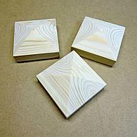 Пирамида деревянная 10х10х4,5см  без отделки