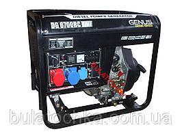 Дизельный генератор Genus DG6700RC-DV Universal (220/380 V, +ATS)