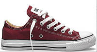 "Кеды Converse All Star Chuck Taylor Low ""Bordo"" Арт. 2465"