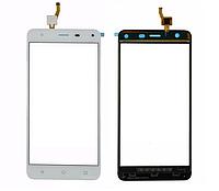 Оригинальный тачскрин / сенсор (сенсорное стекло) для Nomi i5532 Space X2 (белый цвет)