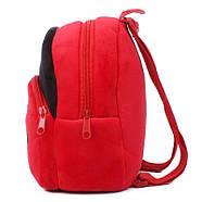 Детский рюкзак велюровый Божья коровка Berni, фото 3
