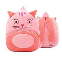 Детский рюкзак велюровый Кошка Berni (46740)