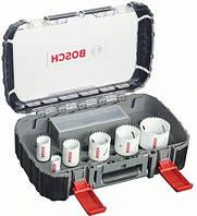 Набор биметаллических коронок Bosch Progressor, 9 предметов (2608580873)