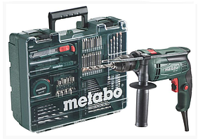 METABO SBE 650 Mobile Workshop Дрель ударная + мобильная мастерская (600671870)
