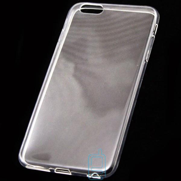 Чехол силиконовый Slim iPhone 6 Plus прозрачный