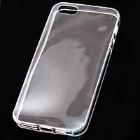 Чехол силиконовый Slim iPhone 5 прозрачный