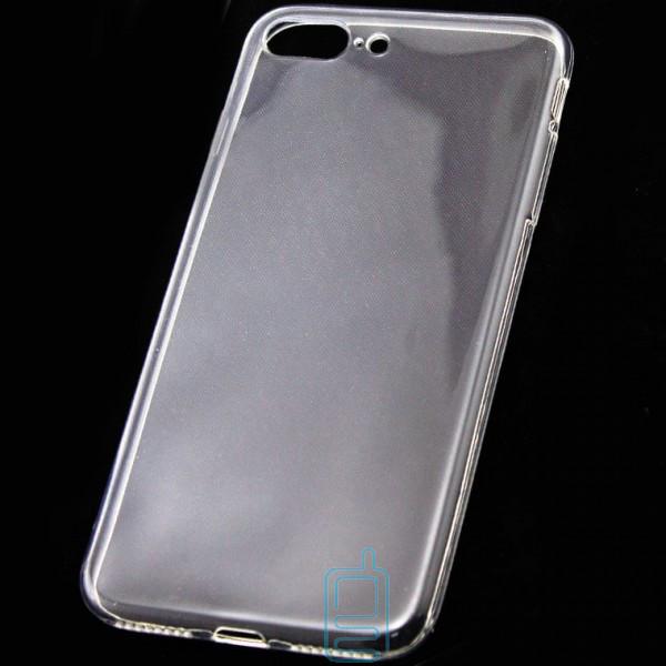 Чехол силиконовый Slim iPhone 7 Plus прозрачный