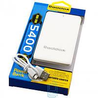 Power Bank Reddax RDX-200 5400 mAh white