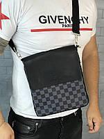 ca5c19548a54 Сумка мужская через плечо почтальенка брендовая Louis Vuitton копия  высокого качества