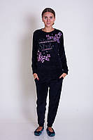 Женская велюровая  пижама  Nicoletta 87069, фото 1