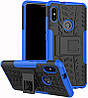 Чехол-накладка TOTO Dazzle kickstand 2 in 1 phone case Xiaomi Mi 6x/Mi A2 Blue