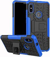 Чехол-накладка TOTO Dazzle Kickstand 2 in 1 Case Xiaomi Mi 6x/Mi A2 Blue