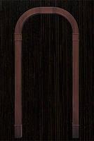 Арка Новый Стиль Романская венге new ПВХ Deluxe ( шир. от 660мм до 1260мм, толщ. 200мм, высота до 2400мм)