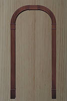 Арка Новый Стиль Романская ясень ПВХ Deluxe ( шир. от 660мм до 1260мм, толщ. 200мм, высота до 2400мм)