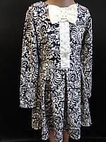 Купить качественные трикотажные платья для девочек., фото 1