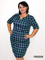 Платье из французского трикотажа-48,50,52,54,56