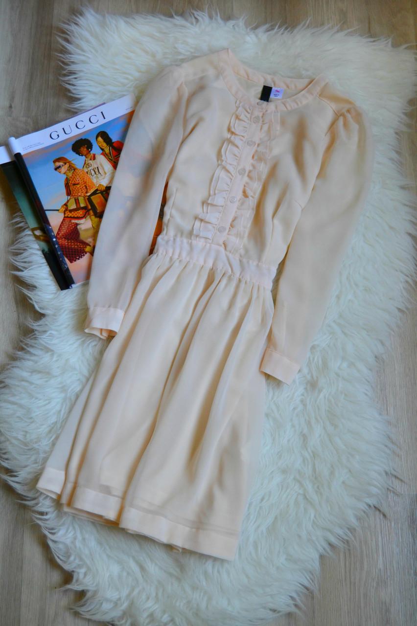 Шифоновое короткое платье H&M