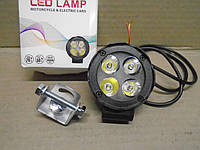 Дополнительный фонарь светодиодный LED SMD авто, мото 12В