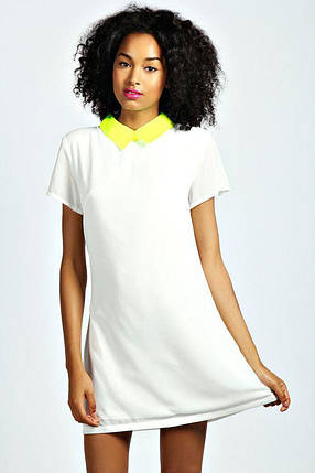 Новое платье с ярким воротничком Boohoo, фото 2