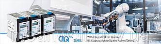 Delta Electronics представляет линейку электропитания наDIN-рейкеCliQ VAсо встроенным ЖК-дисплеем