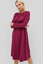 Приталенное расклешенное платье с завышенной талией (Gonz crd), фото 2