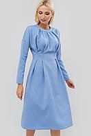 Приталенное расклешенное платье с завышенной талией (Gonz crd)