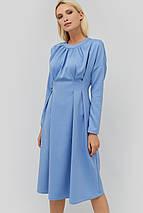 Приталенное расклешенное платье с завышенной талией (Gonz crd), фото 3