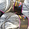 Пряжа Combo Himalaya серо-белый меланж