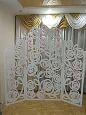 ОРЕНДА,Ширма-фотозона різблена трояндами,Львів, фото 2