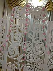 ОРЕНДА,Ширма-фотозона різблена трояндами,Львів, фото 3