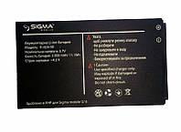Акумулятор (батарея) Sigma Extreme 3 SIM X-style 68/3GSM (3000 mah) оригінал