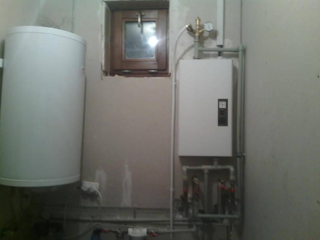 Установка электрокотла в частном доме