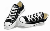 Кеды мужские Converse All Star низкие black, фото 1
