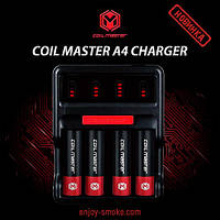 Новинка: зарядное устройство Coil Master A4 Charger!