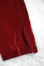 Бархатное облегающее платье с разрезом Boohoo, фото 3