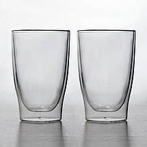 Стаканы с двойным дном Herisson 2шт 400 мл (EZ-3001), фото 3
