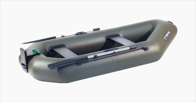 Весельные лодки с навесным транцем