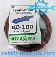 Ремкомплект гидроцилиндра ЦС-100, ГЦ-100 нового образца р.к.304