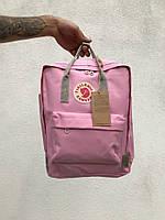 Топовый розовый рюкзак в стиле Fjallraven Kanken Classic, школьный рюкзак канкен 6 цветов в наличии