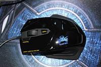 Мышь игровая Sunt A310 Laser, LED, USB, 2400 dpi