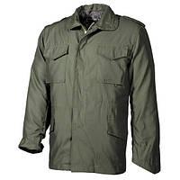 Куртка полевая (XL) US Field Jacket M65 с подкладкой, тёмно-зелёная MFH 03072B