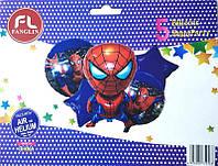 """Набор шаров """"Spider Man"""". В упак:5 шт."""