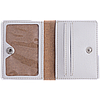 Картхолдер v.2.0. Fisher Gifts 360 Герб металлик (эко-кожа), фото 2