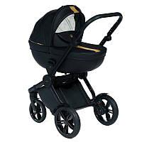 Детская универсальная  коляска 2 в 1 Dada Paradiso Luxor Black
