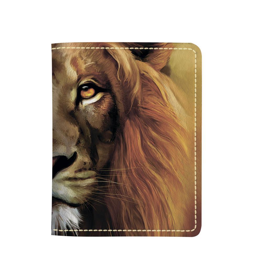 Картхолдер v.2.0. Fisher Gifts 977 Царь всех зверей (эко-кожа)