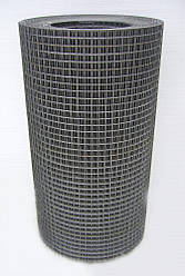 Зварна оцинкована сітка для кліток 12,5*12,5*0,9 ширина 1м